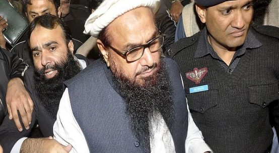 Hafiz Saeed was sent to jail